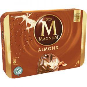 4 Magnum Almond Multipack