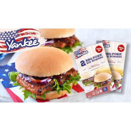 PM £2.00 Yankee Bonless BBQ Pork Rib in Bun