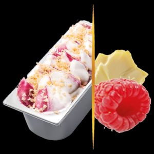 5.5lt Carte D'or White Chocolate & Raspberry Rippl