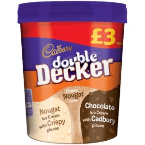 PM £3.00 Double Decker Tub