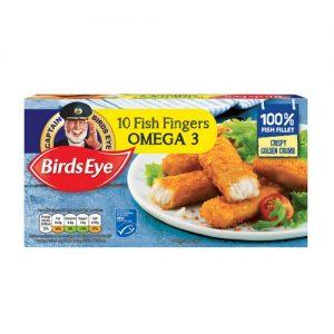 Birds Eye 10 Omega Fish Fingers