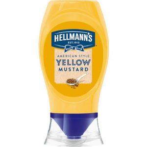 Hellman Yellow Mustard Squeezy