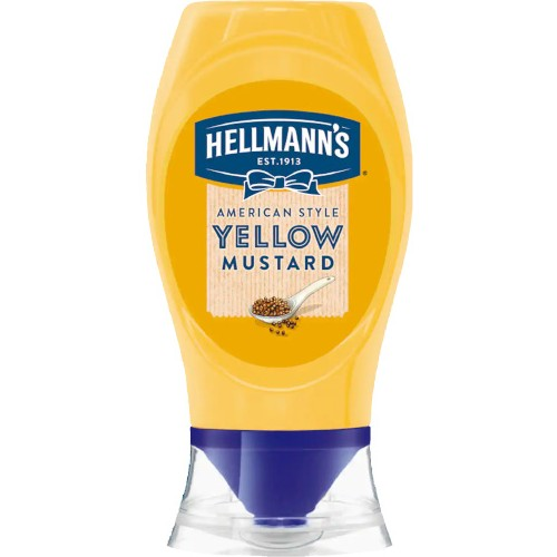 Hellman Yellow Mustard Squeezy