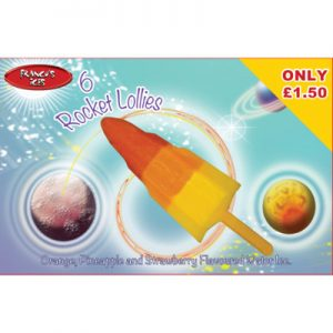 PM £1.50 Franco's Rocket 6pk