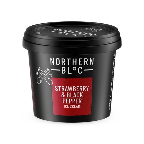 NBloc Straw & Black Pe Cup