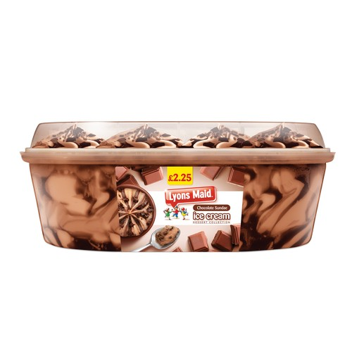 PM £2.25 Lyons Maid Triple Chocolate