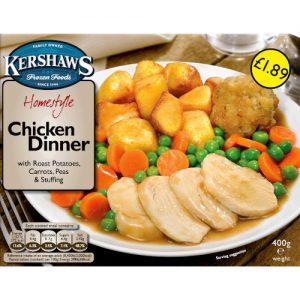 PM £1.89 Kershaws Chick Dinner