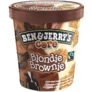 Ben & Jerrys Core Blondie Brownie