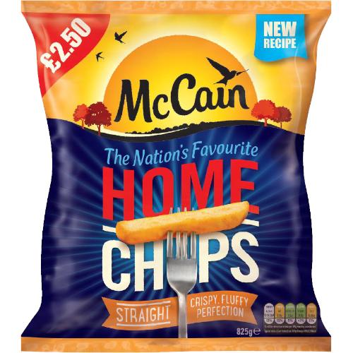 PM £2.50 McCain Home Chip CASE