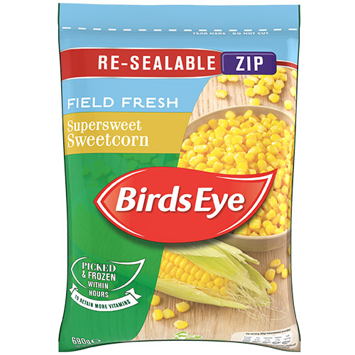 Birds Eye Sweetcorn UNIT
