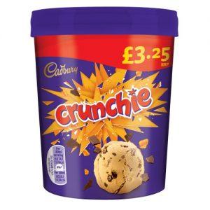 PM £3.25 Crunchie Tub