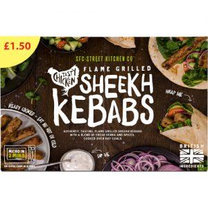 PM £1.50 SFC Sheekh Kebab