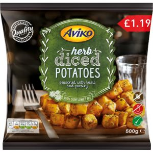PM £1.19 Aviko Diced Potato