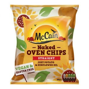 McCain Naked Oven Chips RSP 2.50