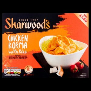 PM £1.69 Sharwood's Chicken Korma